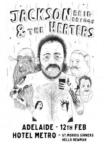 Jackson Reid Briggs poster 12 Feb