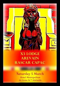 X3 Lodge Poster