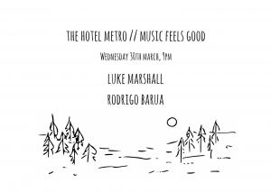 Luke Marshall + Rodrigo Barua 30 March