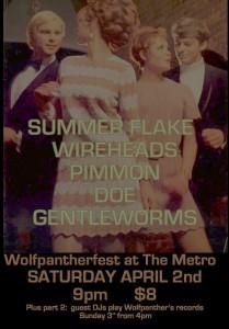Wolfpantherfest 2 April