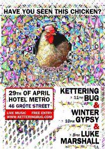 Kettering Bug Friday 29 April