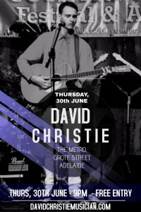 David Christie - June 30