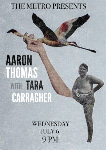 Aaron Thomas + Tara Carragher Wed 6 July