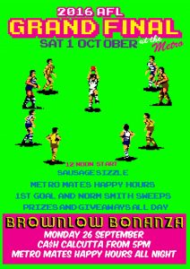 2016 Brownlow Bonanza