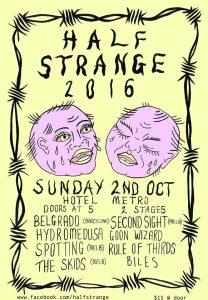 Half Strange Festival Sun 2 Oct