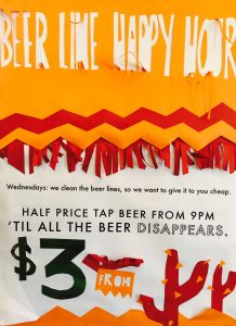 Beer Line Happy Hour - Every Wednesday