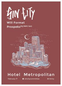 Sin City, Will Format + Prospeks Fri 17 Feb