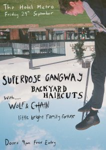 Twinkledaddies Fortune Fest - Superdose Gangway + Backyard Haircuts + Wolf and Chain + Little Bright Family Fortune Fri 29 Sept