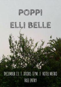Poppi + Elli Belle Wed 13 Dec