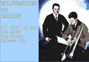 Wolfpanther v Barlow Sun 7 Jan