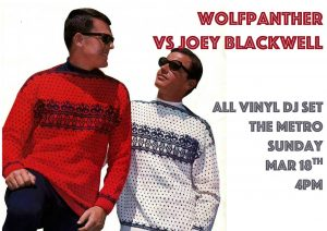 Wolfpanther vs Joey Blackwell Sun 18 Mar