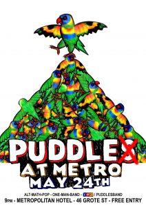Puddles (KB) at the Metro Thu 24 May