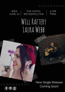Will Rapherty + Laura Webb Wed 27 June