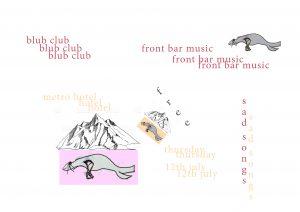 Blub Club Thurs 12 July