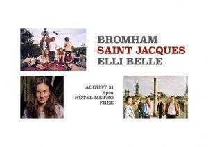 Bromham // Saint Jacques // Elli Belle Fri 31 Aug