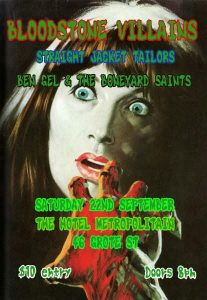 Songs about Cars and Girls 1 Sat 22 Sept