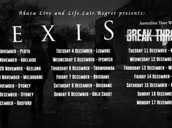 Tues 27 Nov Hexis (Denmark) + Break Through (Tas)