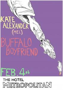 Kate Alexander Poster 4 Feb