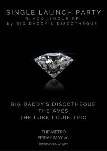 Big Daddy's Discotheque, The Aves + Luke Louie Trio. Fri 20 May