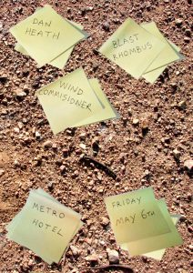 Blast Rhombus, Wind Commisioner + Dan Heath - Fri 6 May