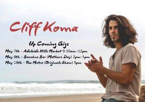 Cliff Koma Wed 18 May
