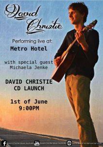 David Christie CD Launch 1 Jun