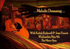 Kaileb Rothwell + Jesse Francis 4 May