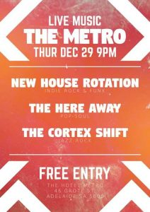 The Cortex Shift, The Here Away + New House Rotations - Thurs 29 Dec