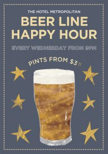 Beer Line Happy Hour - Every Wednesday