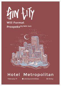 Sin City, Will Format + Prospeks Fri 17 Feb