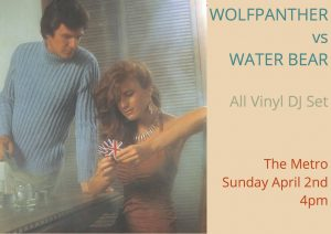 Wolfpanther vs Water Bear Sund 2 April