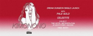 Kimonono, Pale Gold + Celestite Fri 2 June