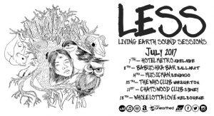 Living Earth Sound Sessions (LESS) Fri 7 July
