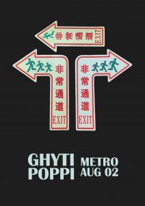 Ghyti + Poppi Wed 2 Aug