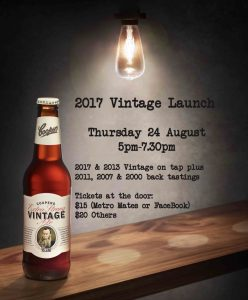 Vintage Launch 24 Aug