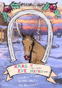 Cowboys of Love, Alana Jagt + The Bullfight Christmas Eve