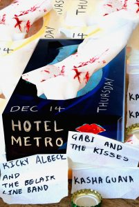 Gabi and the Kisses, Ricky Albeck and the Belair Line Band + Kasha Guava Thu 14 Dec