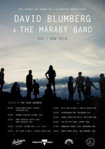 David Blumberg & Maraby Band Tour Info
