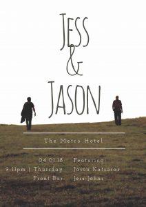 Jess and Jason - Thu 4 Jan