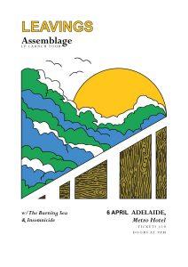 Leavings LP Launch w/ The Burning Sea, Insomnicide Fri 6 April
