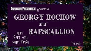 Georgy Rochow and Rapscallion Wed 5 Sept