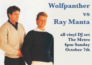 Wolfpanther vs Ray Manta Sun 7 Oct